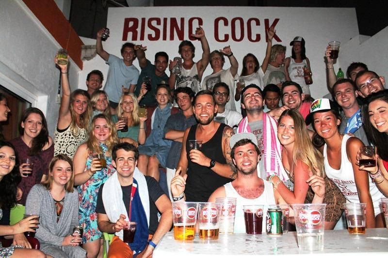 Rising Cock - top party hostel in Portugal