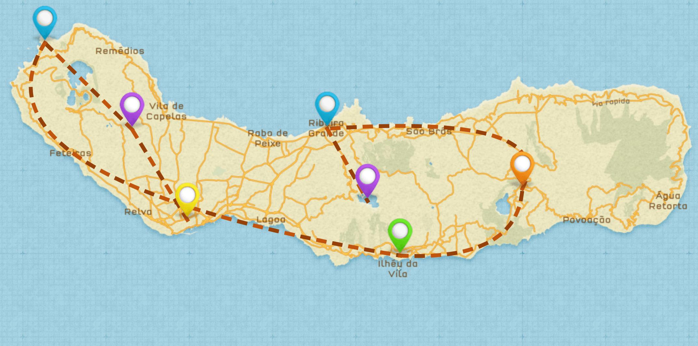 Sao Miguel Itinerary