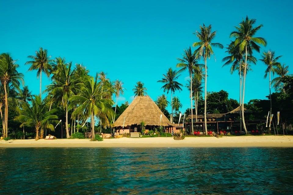 Thailand beach bungalow