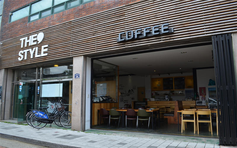 The Style Guest House - a cool hostel in South Korea