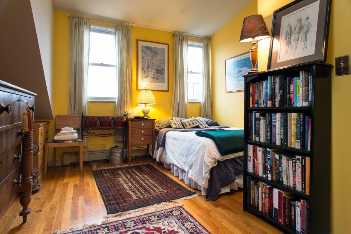Traditional 1850s Brownstone Home