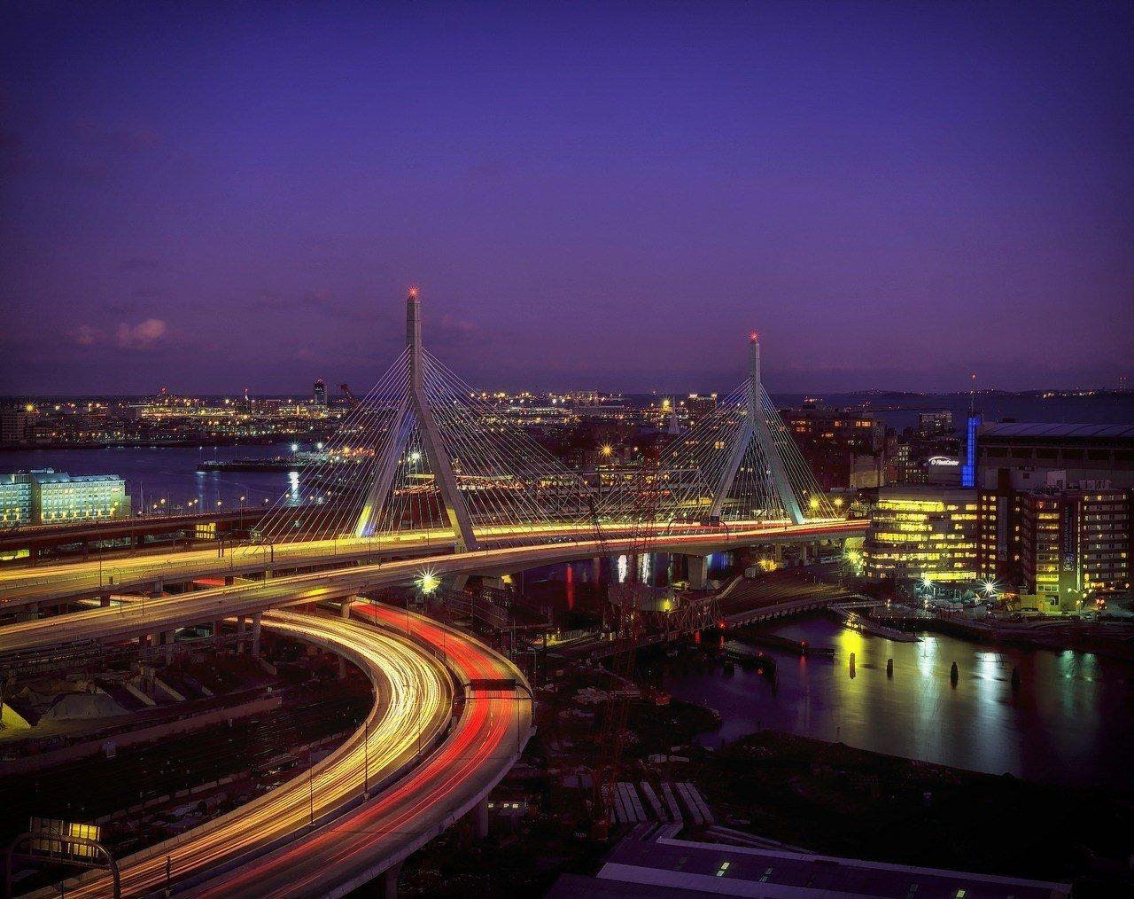 night light trails boston travel guide