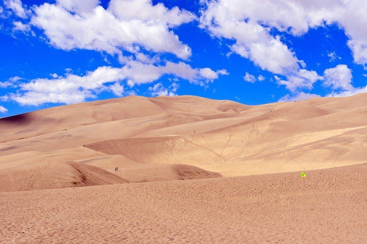 great sand dunes national park colorado sunrise