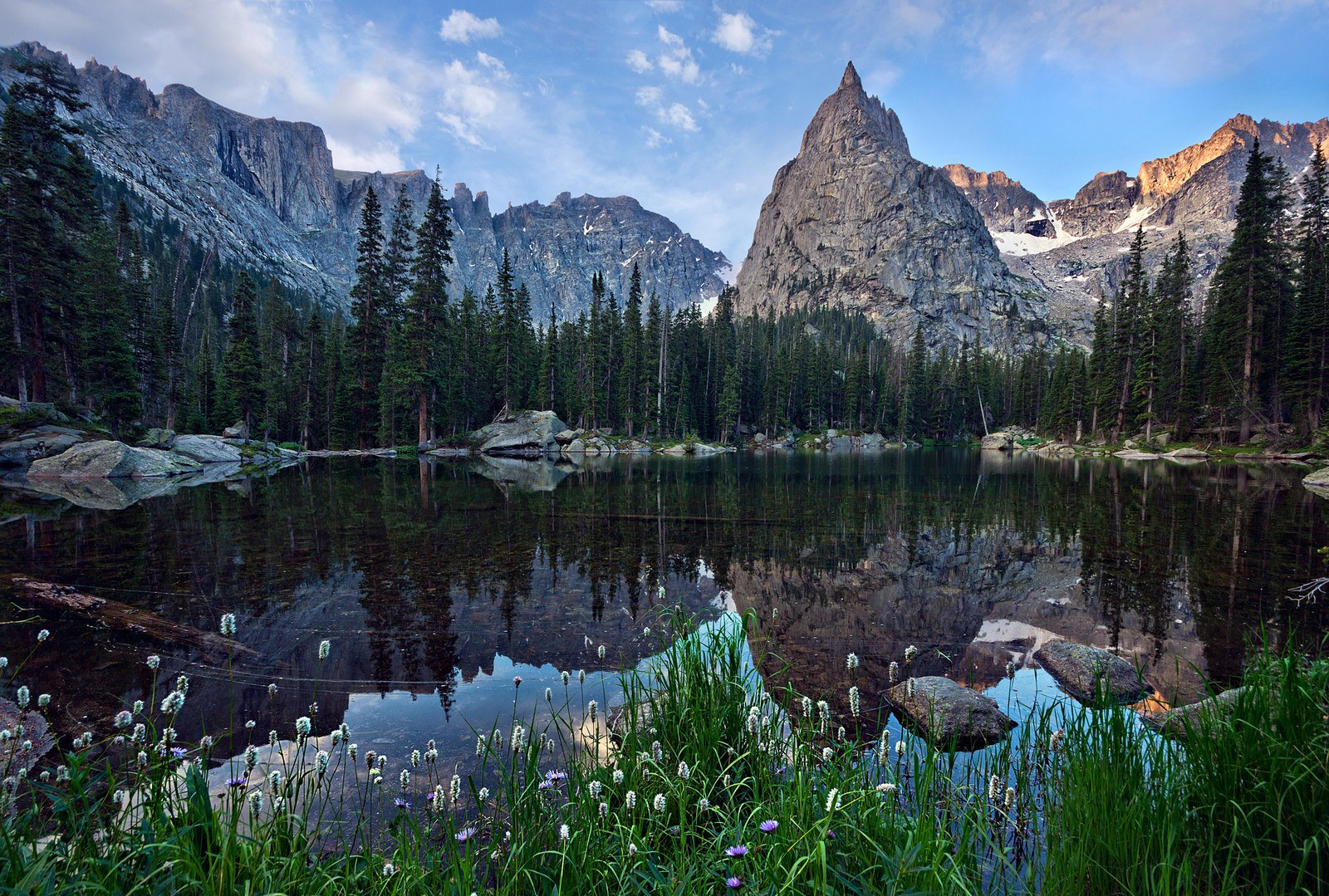 crater lake indian peaks best colorado hikes