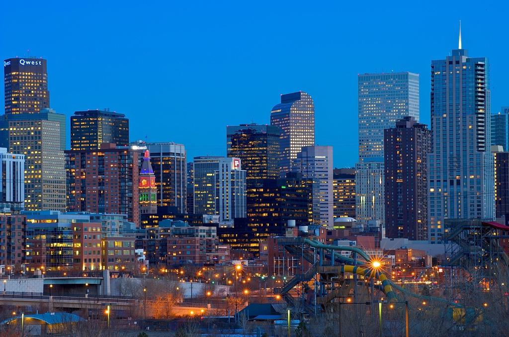 night downtown denver travel guide