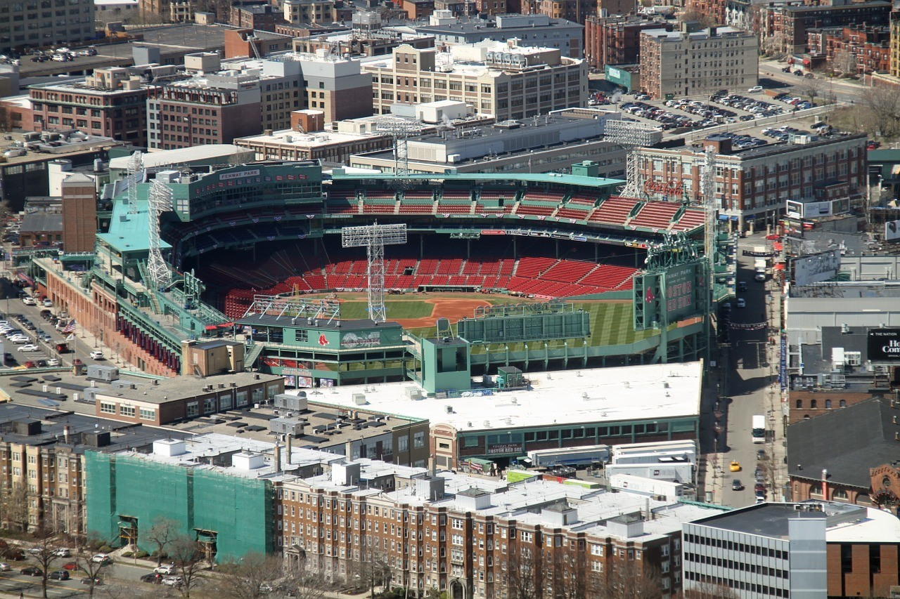 aerial fenway park boston travel guide