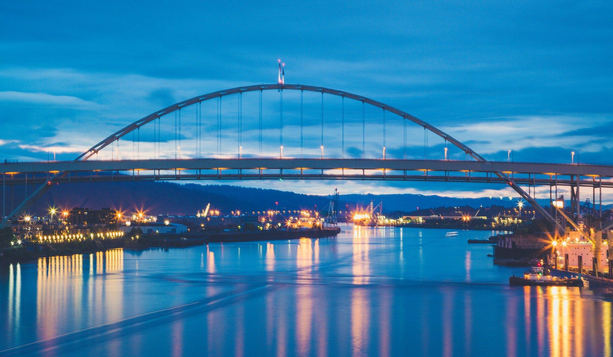 fremont bridge portland oregon travel guide