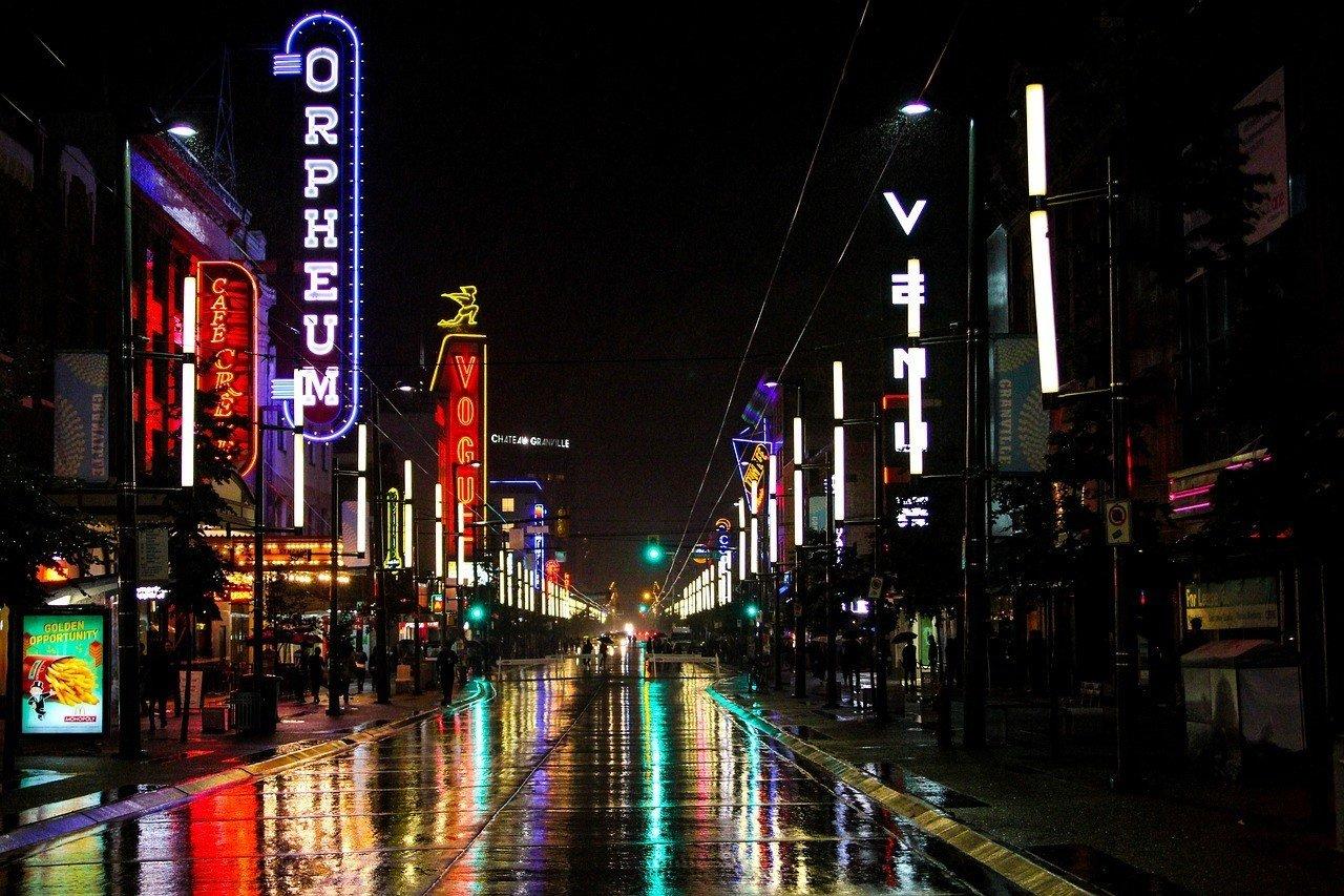 granville night streets