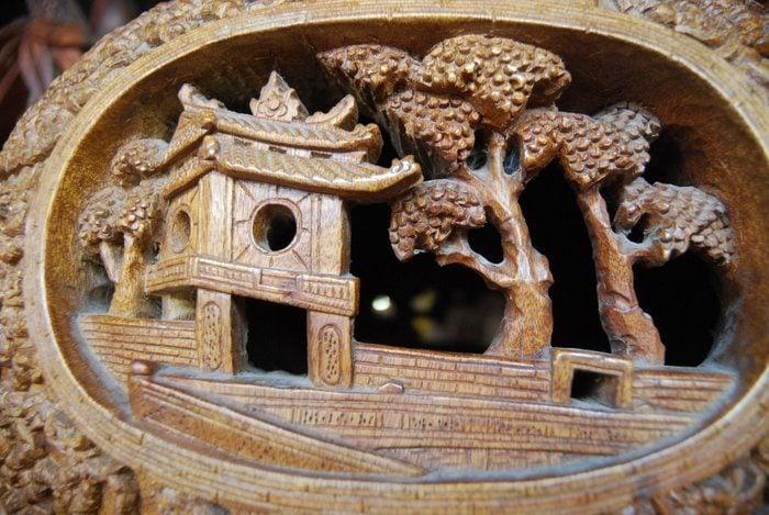 Hoi An wood carvings