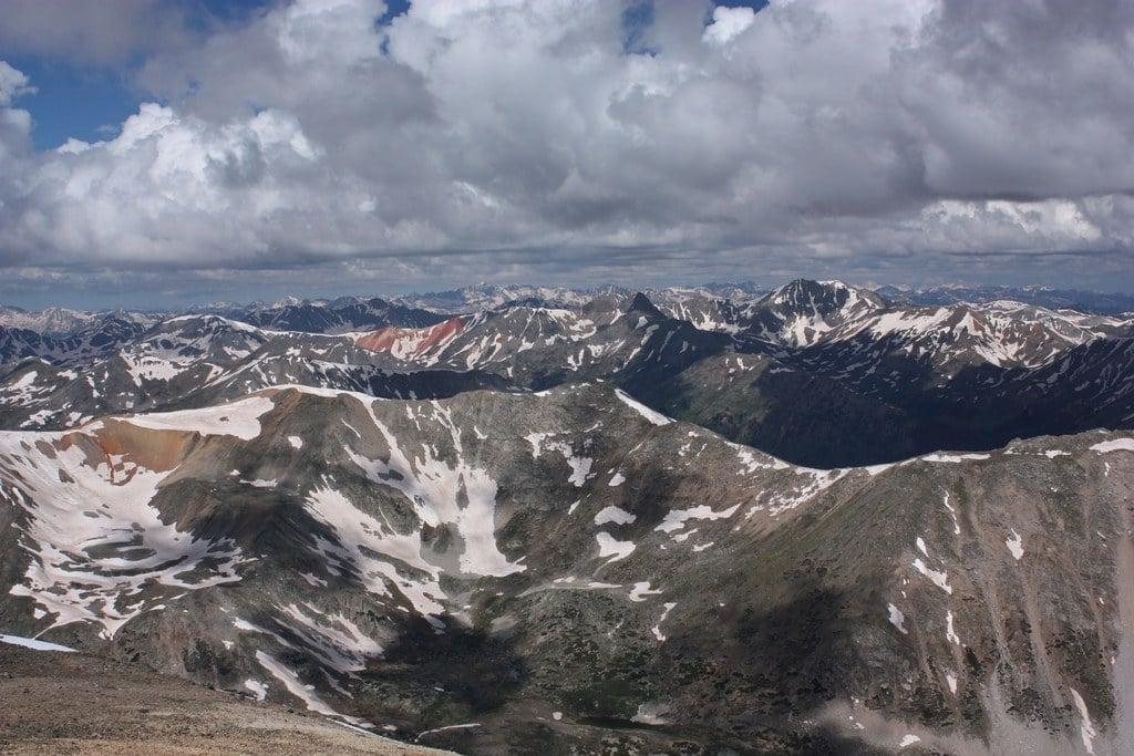 huron peak views best hikes colorado