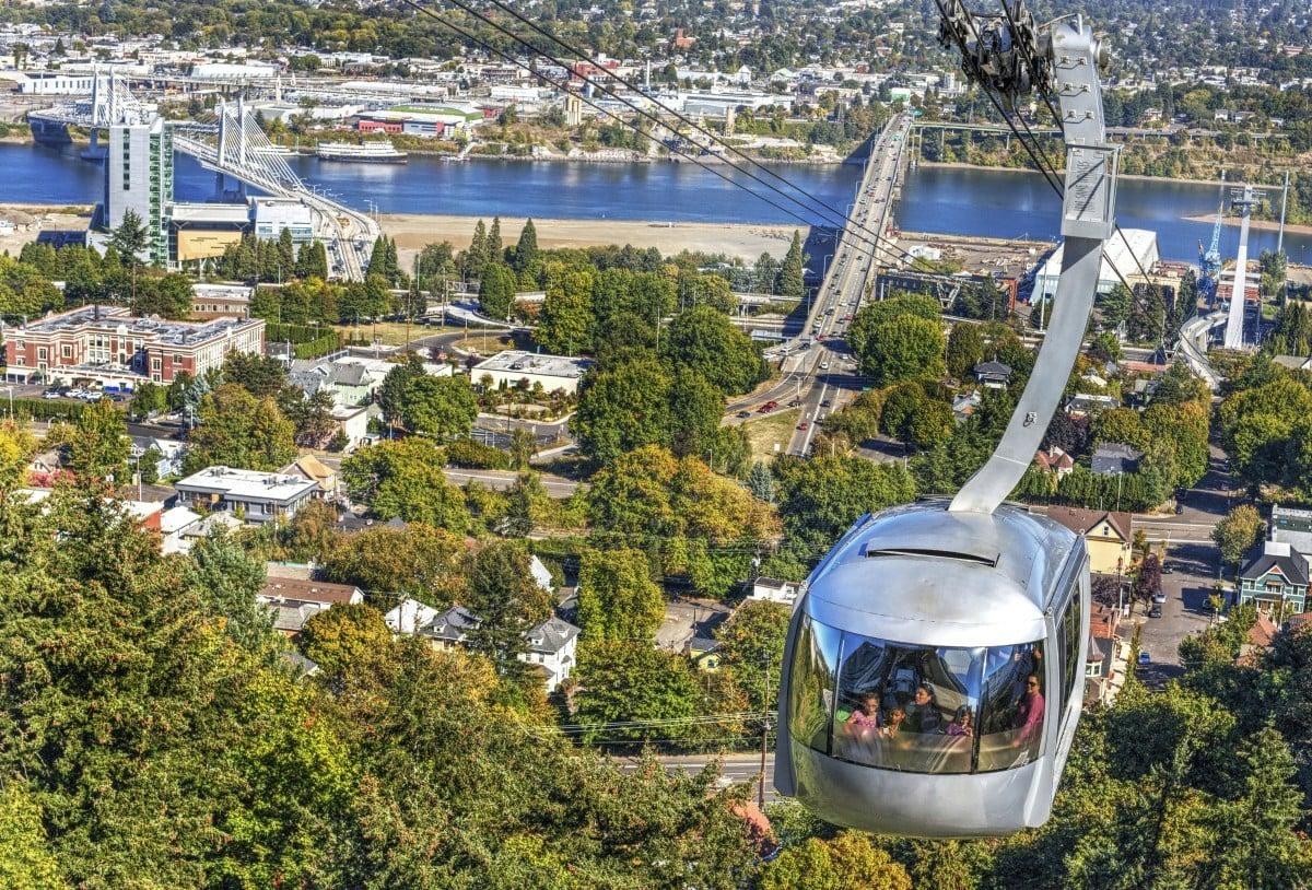 portland travel guide ohsu aerial tram