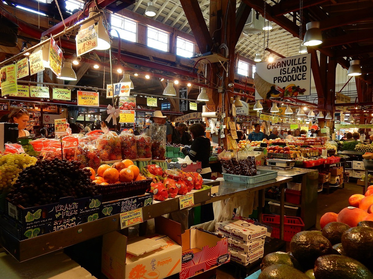 granville markets backpacking cost of travel vancouver