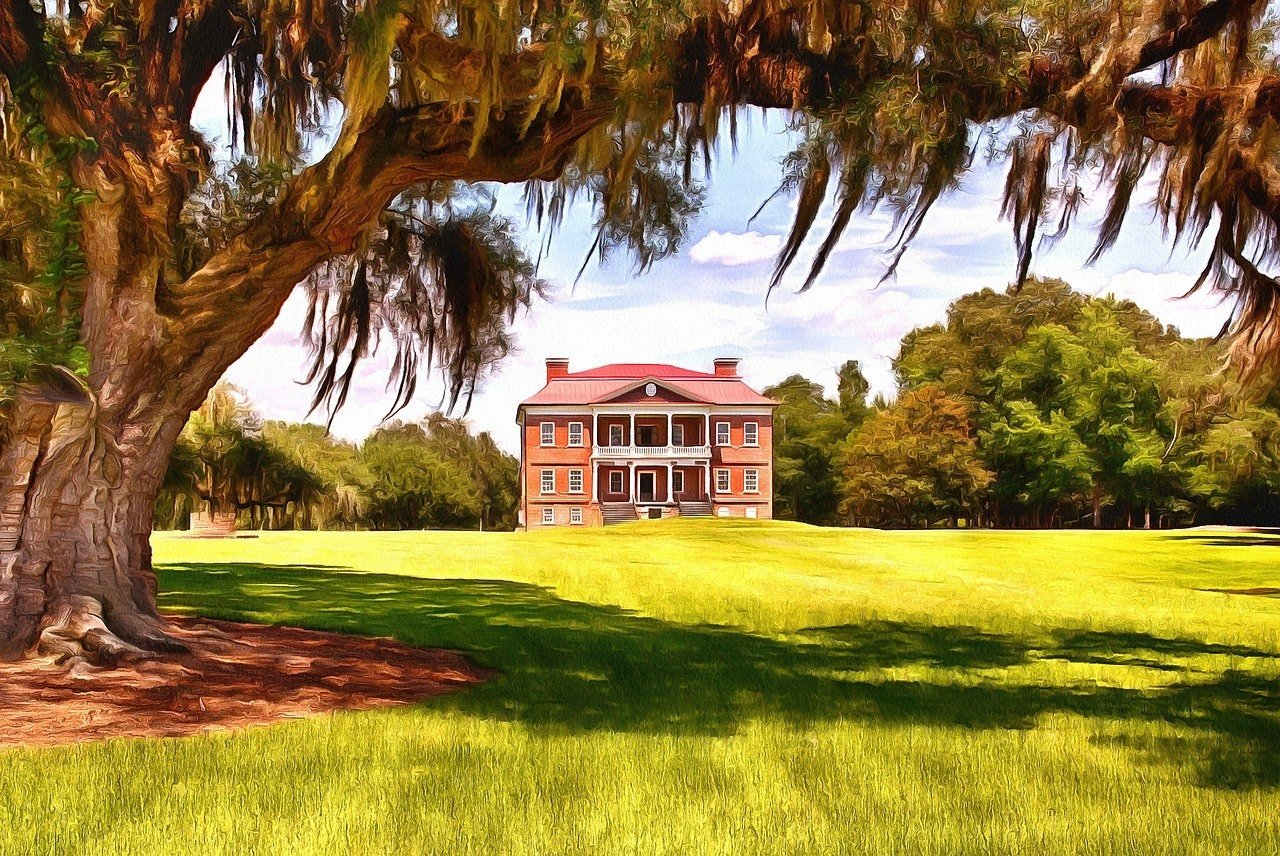 south carolina plantation charleston
