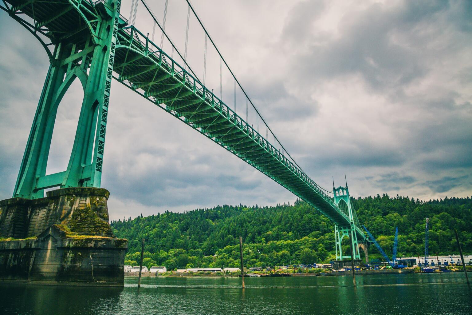 st johns bridge portland oregon travel guide