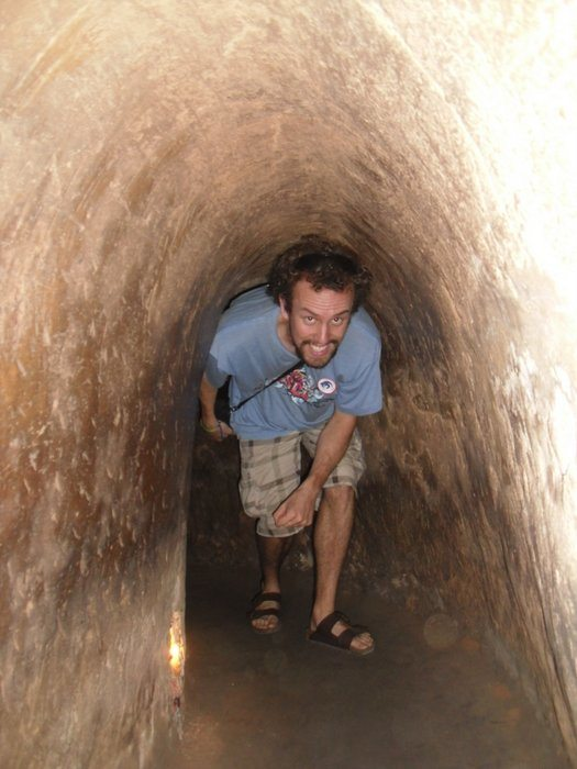 Vietnam Cuchi tunnels