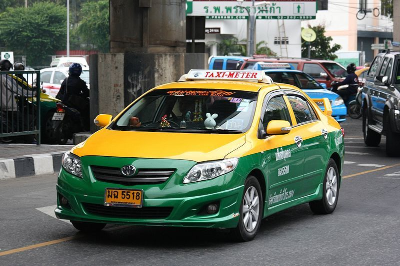 are taxis safe in thailand