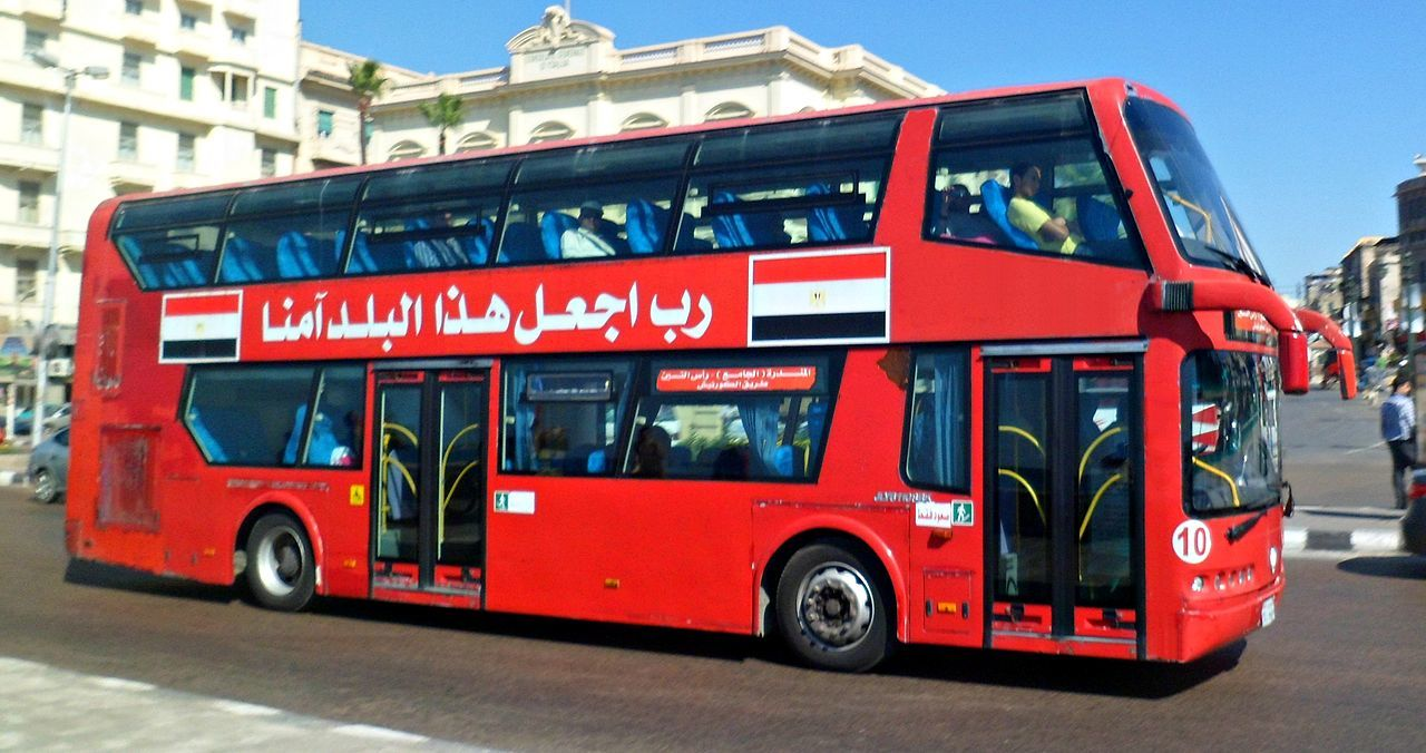 A safe bus in Egypt