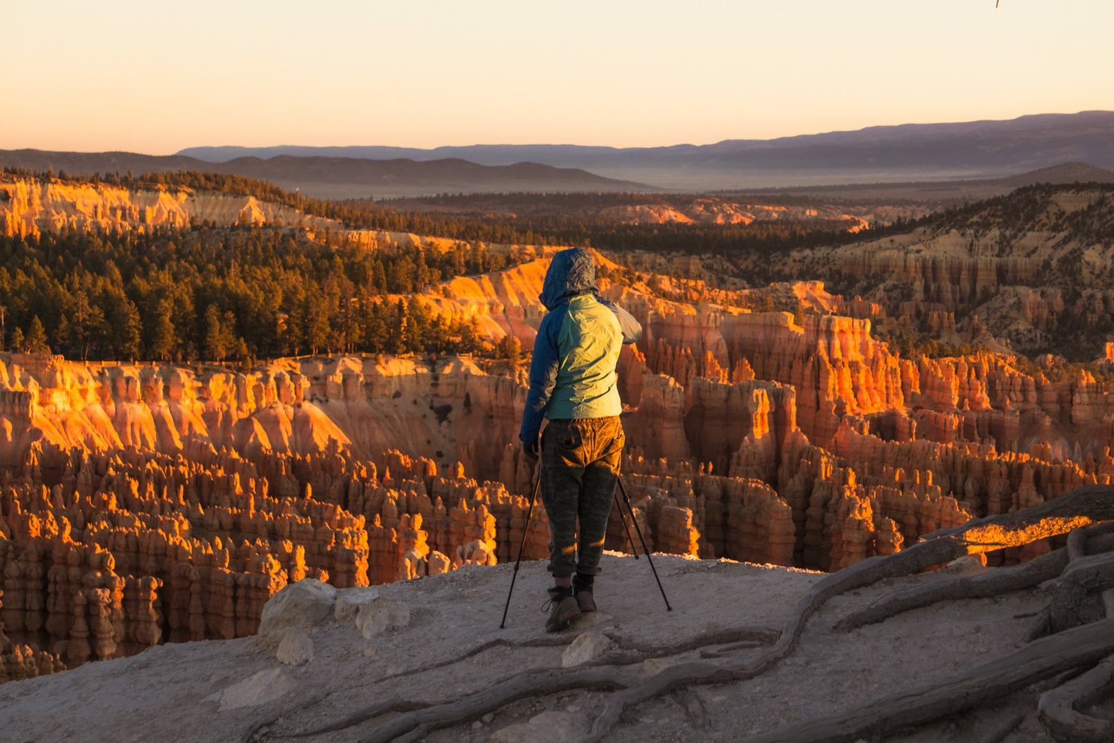 best views of Bryce Canyon sunrise in Utah
