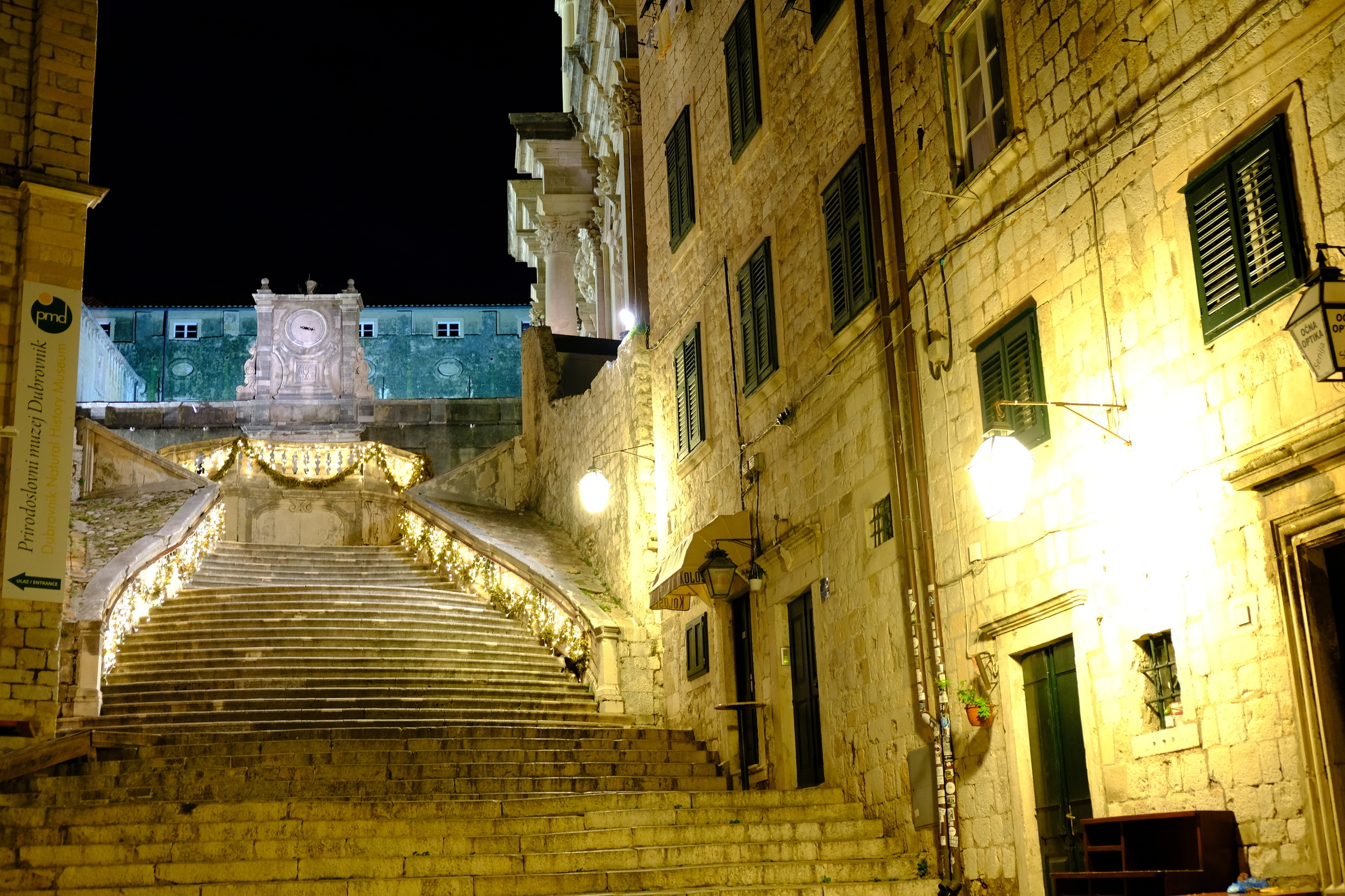 nightlife in dubrovnik