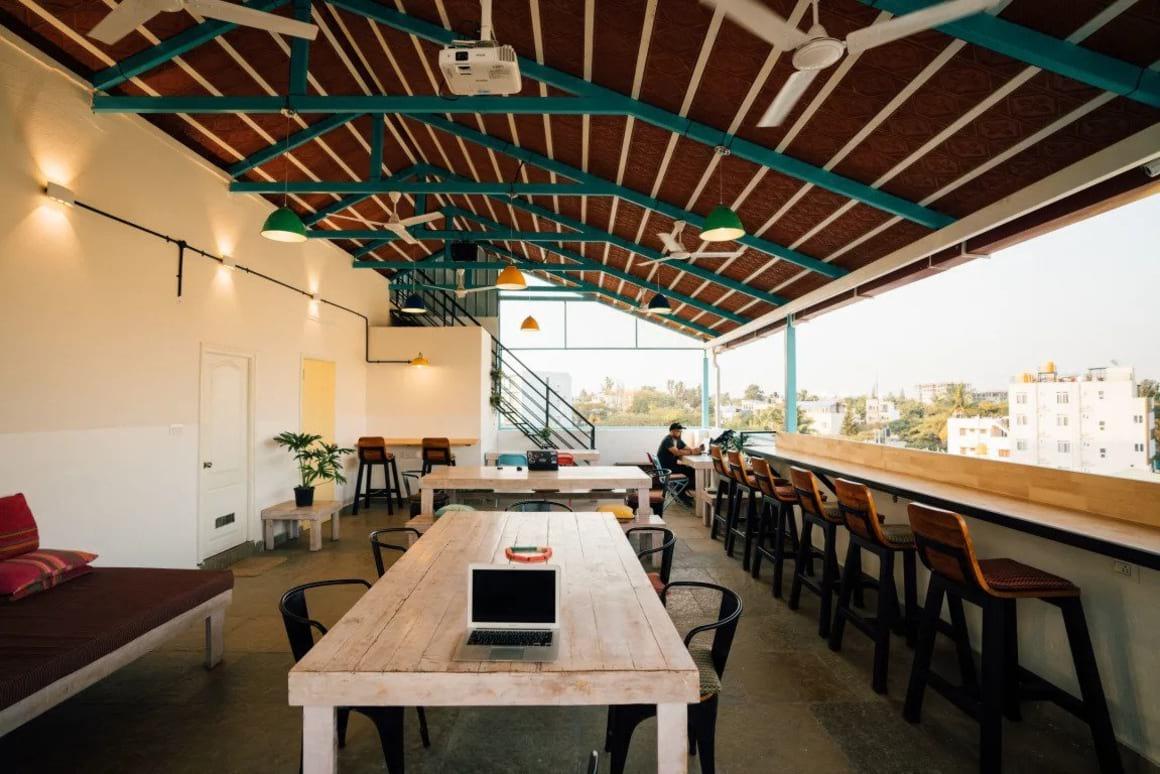 Draper Startup House best hostels in India