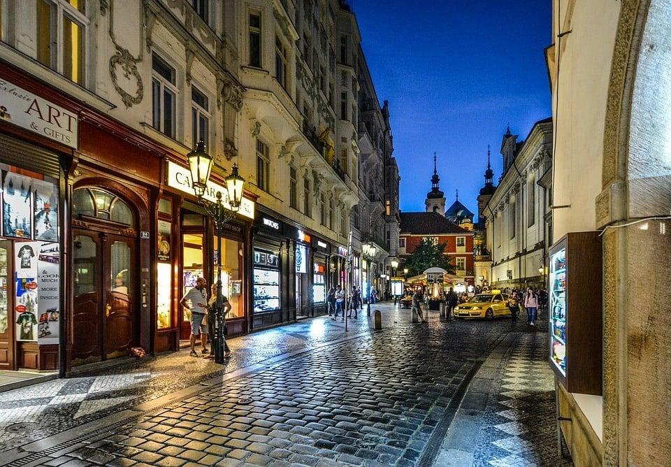Olt Town, Prague
