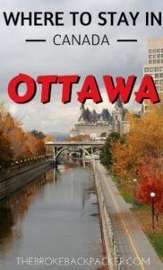 Where to Stay in Ottawa PIN