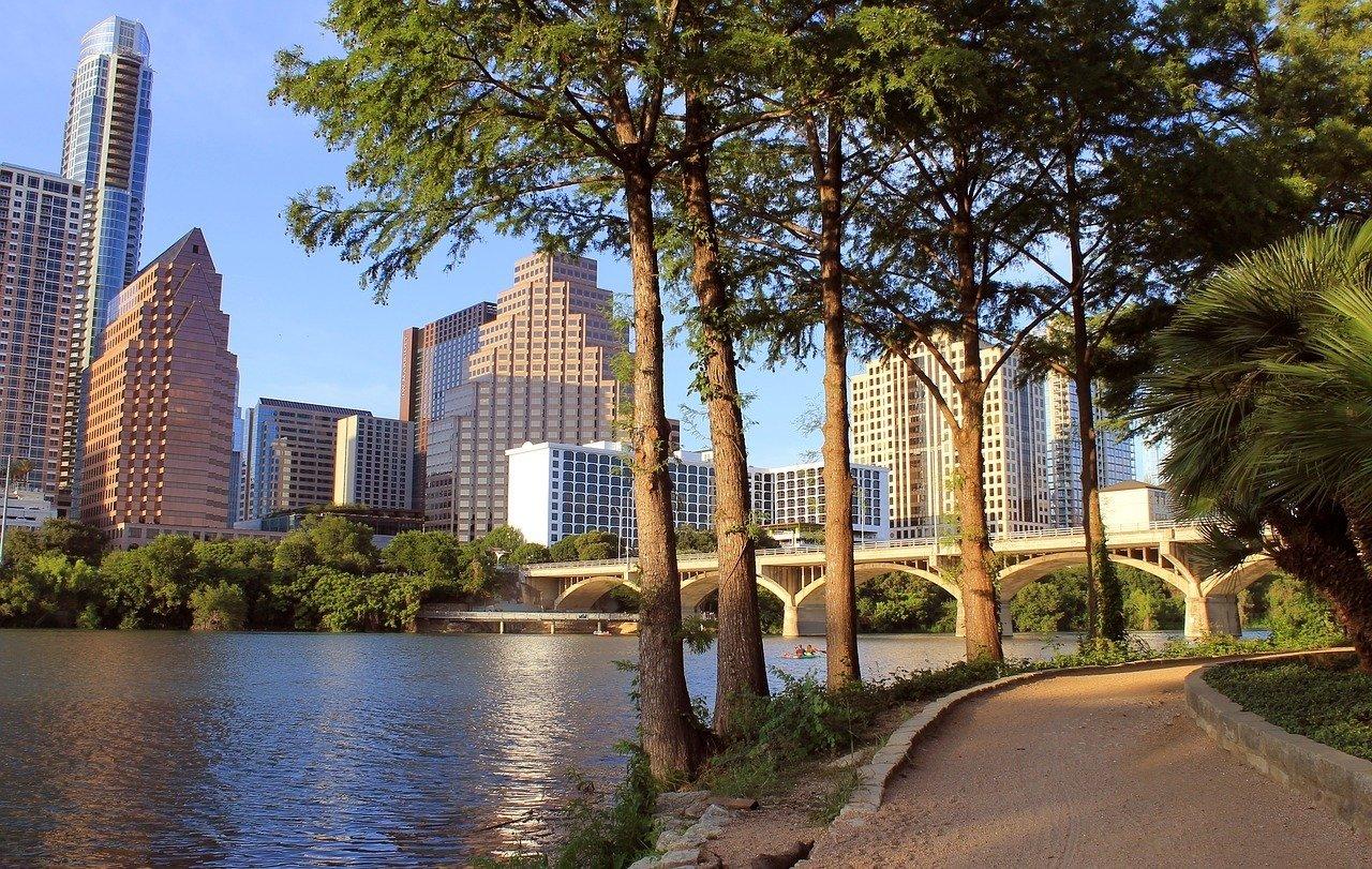 austin texas parks and walkways