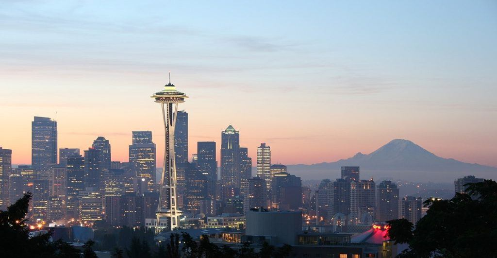 seattle travel guide sunrise skyline