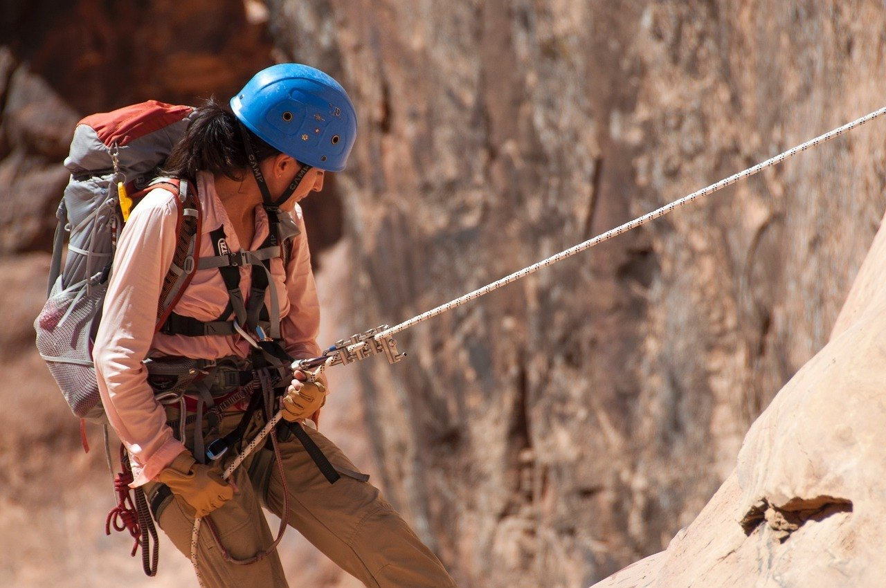 rock climber things to do in utah