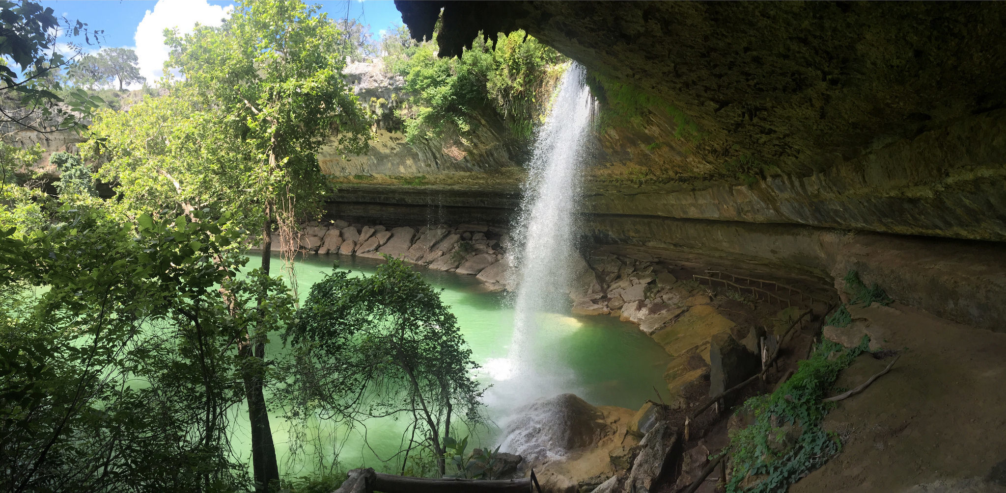 hamilton pool - highlight of austin, texas