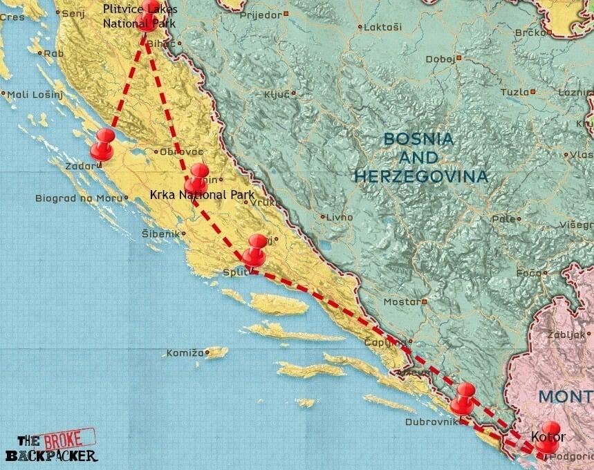 croatia 10 day itinerary