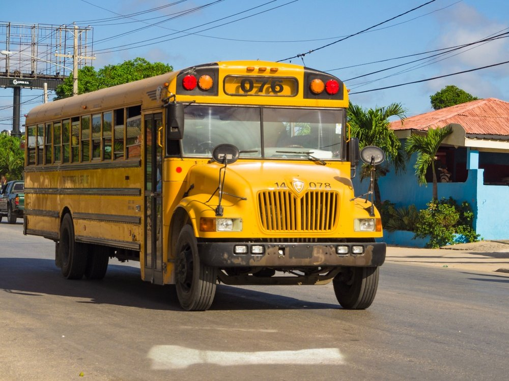 Is public transportation in Dominican Republic safe