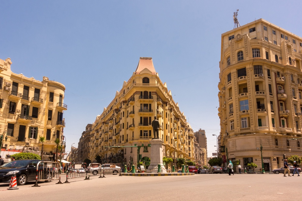 Cairo - not the safest place to go to in Egypt