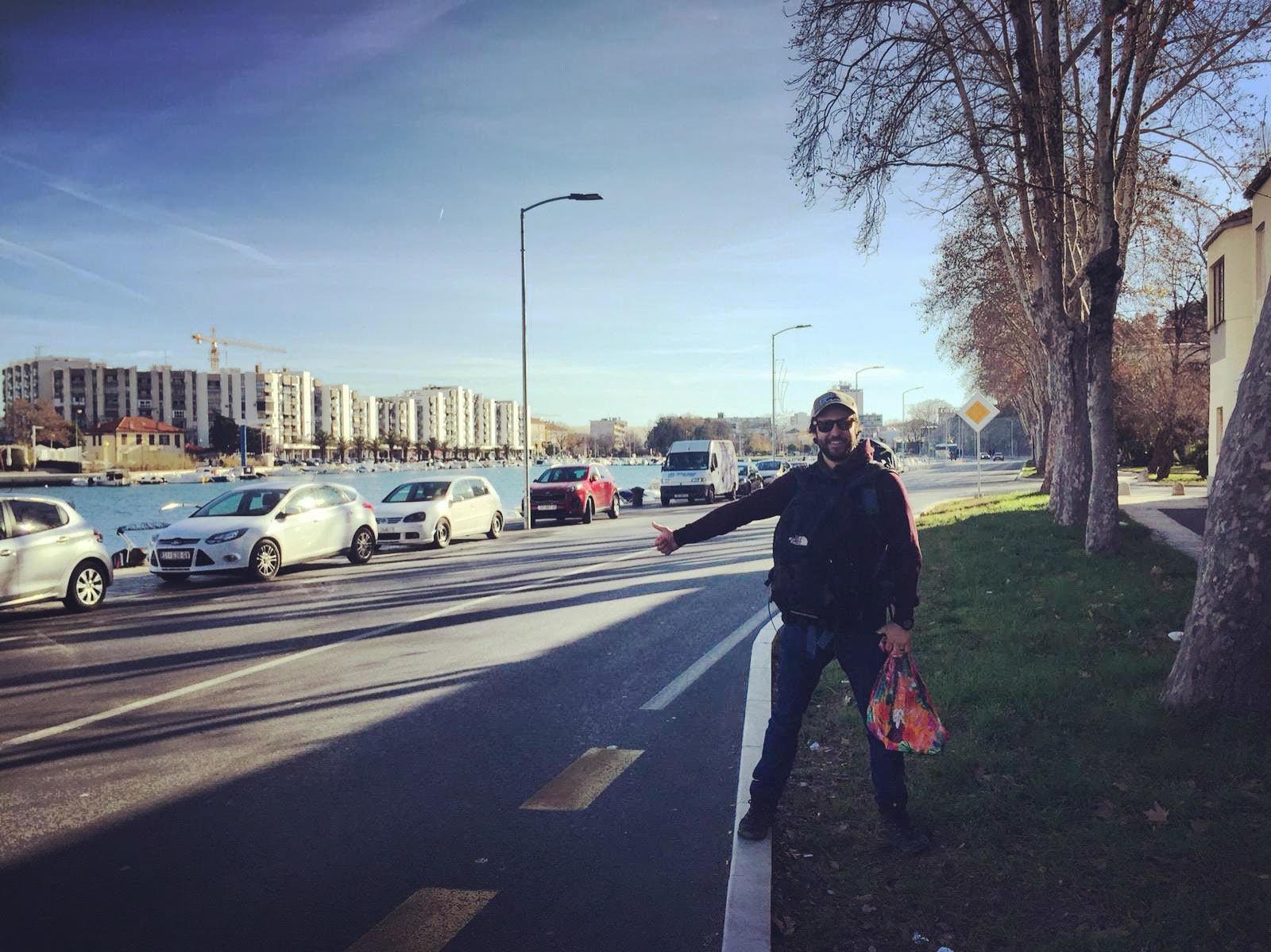 backpacking croatia