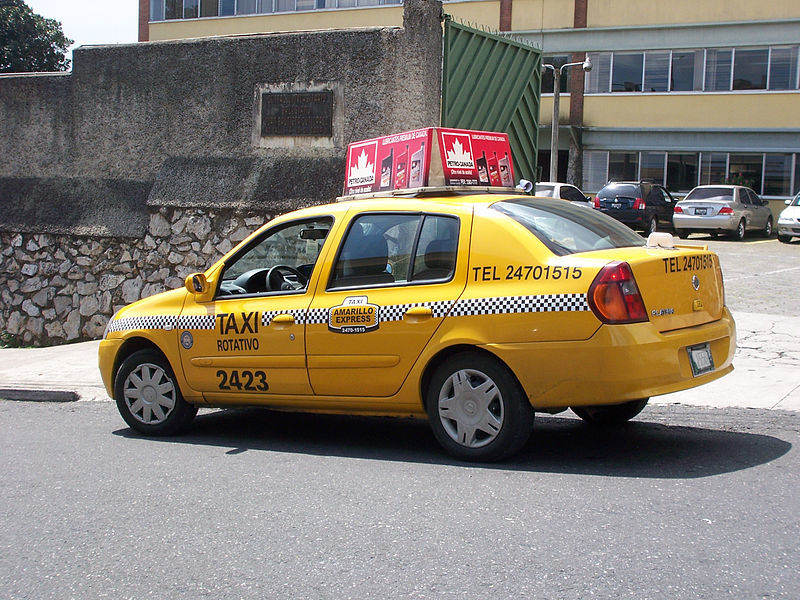 Are taxis safe in Guatemala?