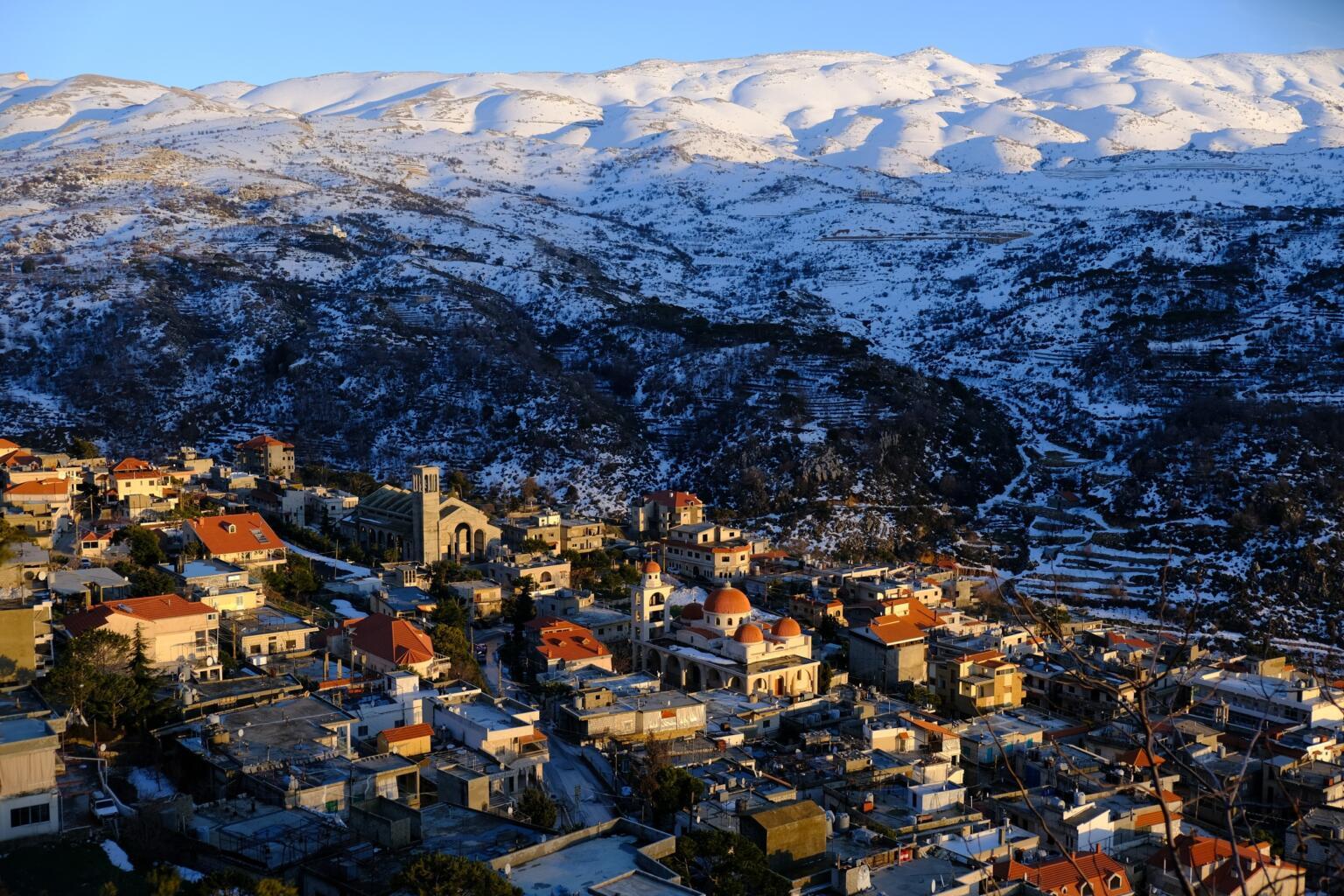 backpacking lebanon