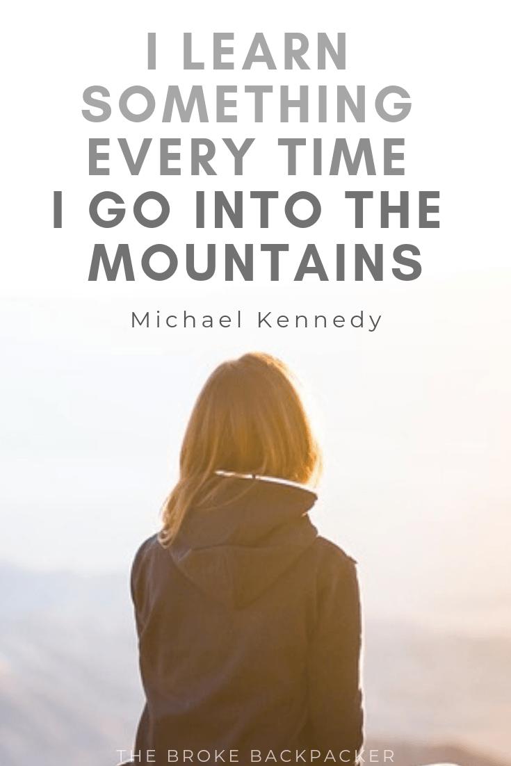 Mountain Quotes 13