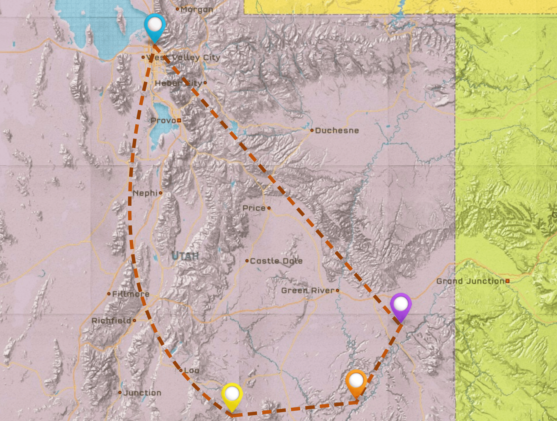 Utah National Park Itinerary