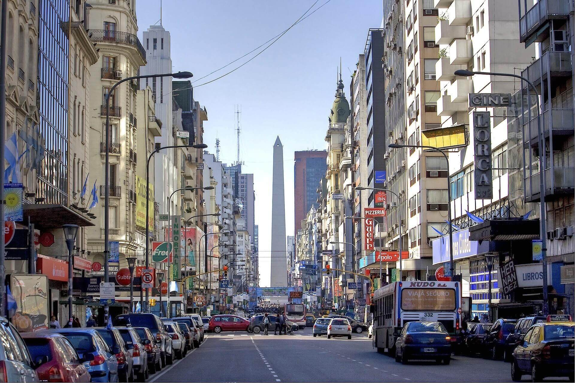 argentina safe to drive road