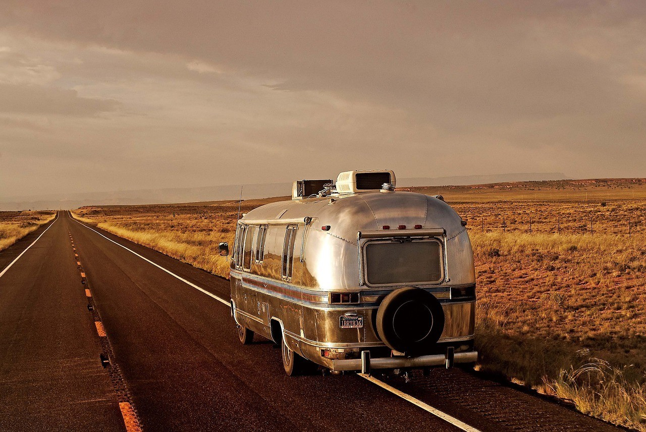 rv airstream trailer outside of las vegas travel guide