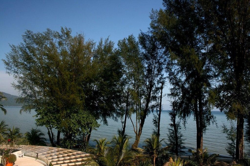 penang, beach