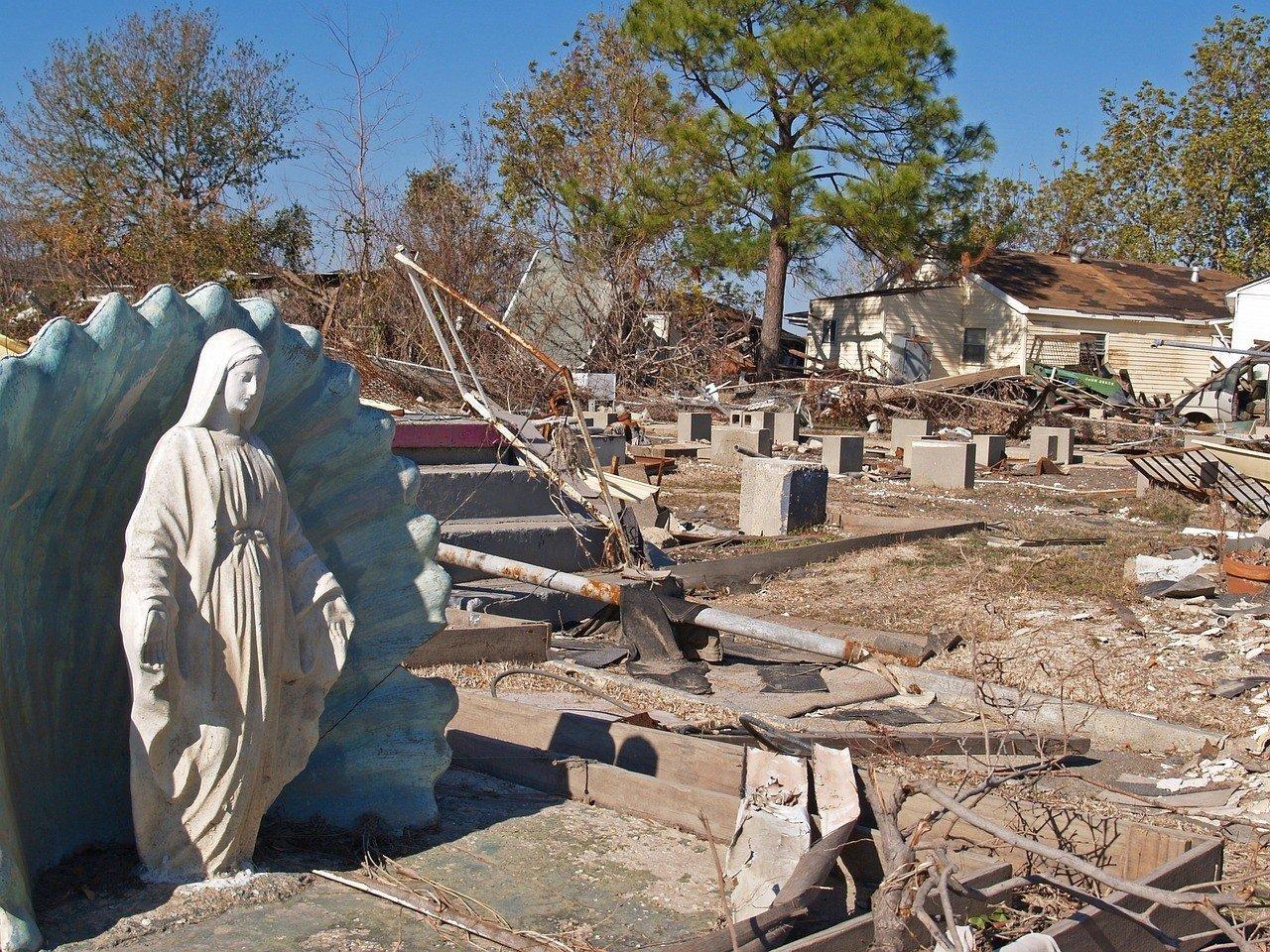 new orleans ruins hurricane katrina