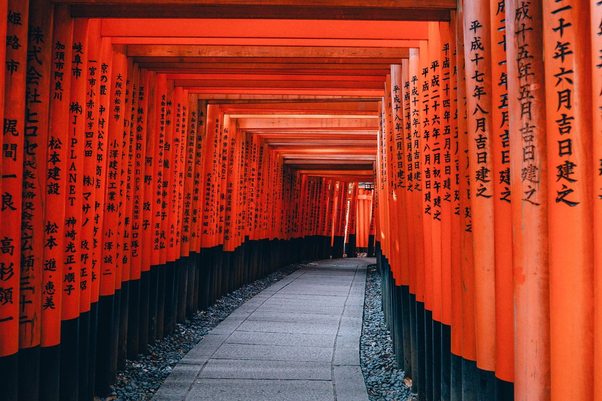 A famous shrine and attraction in Japan