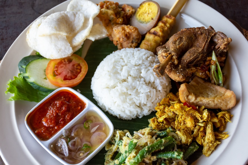 Is the food in Bali safe