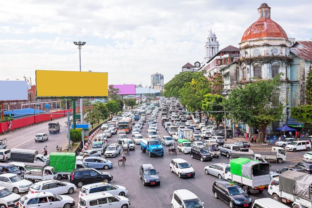 Is it safe to drive in Myanmar?