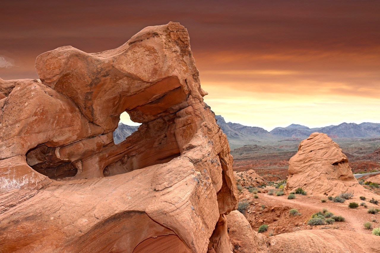 valley of fire living in las vegas