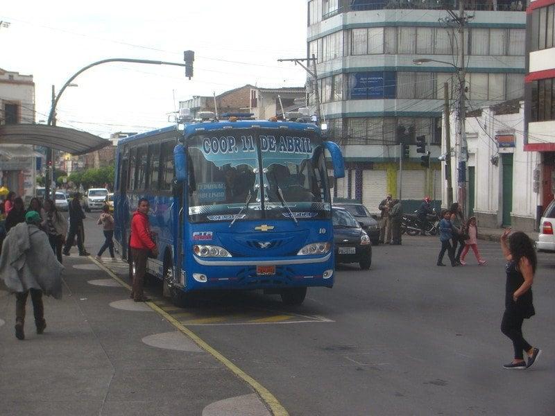 Is public transportation in Ecuador safe?