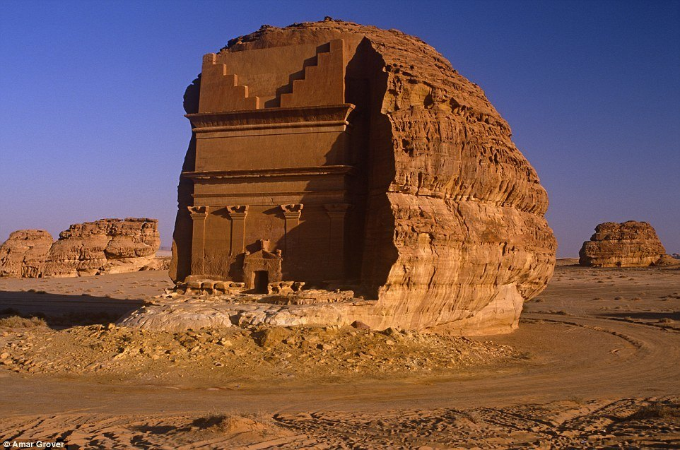 Lonely Castle Saudi Arabia