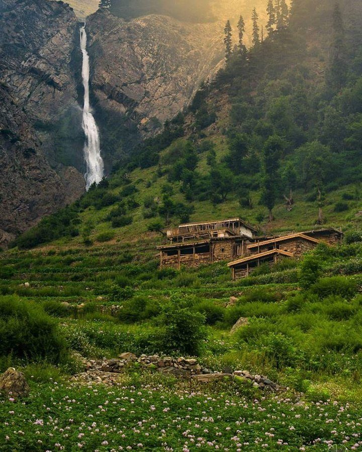 swat valley waterfalls pakistan