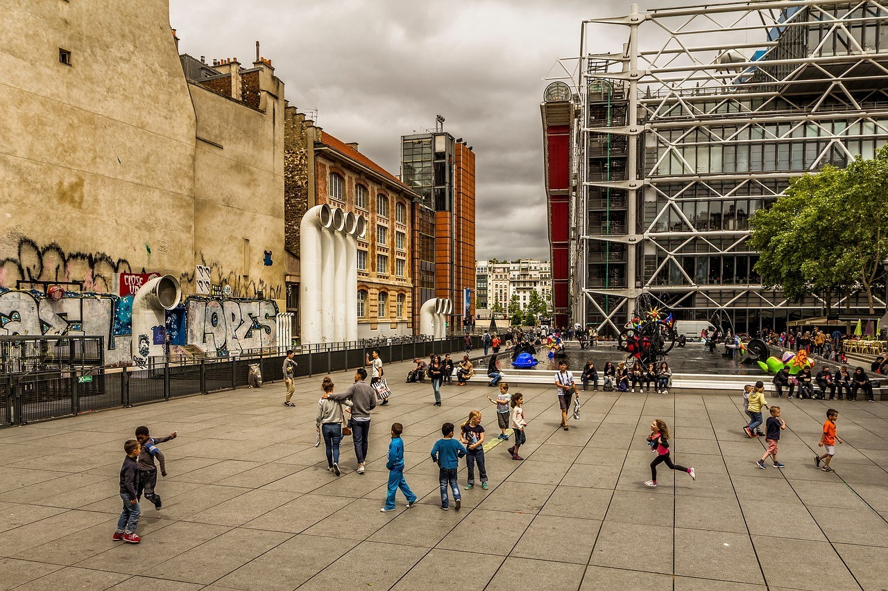 Centre Pompidou - A great place to visit in Paris if you are alone/traveling solo